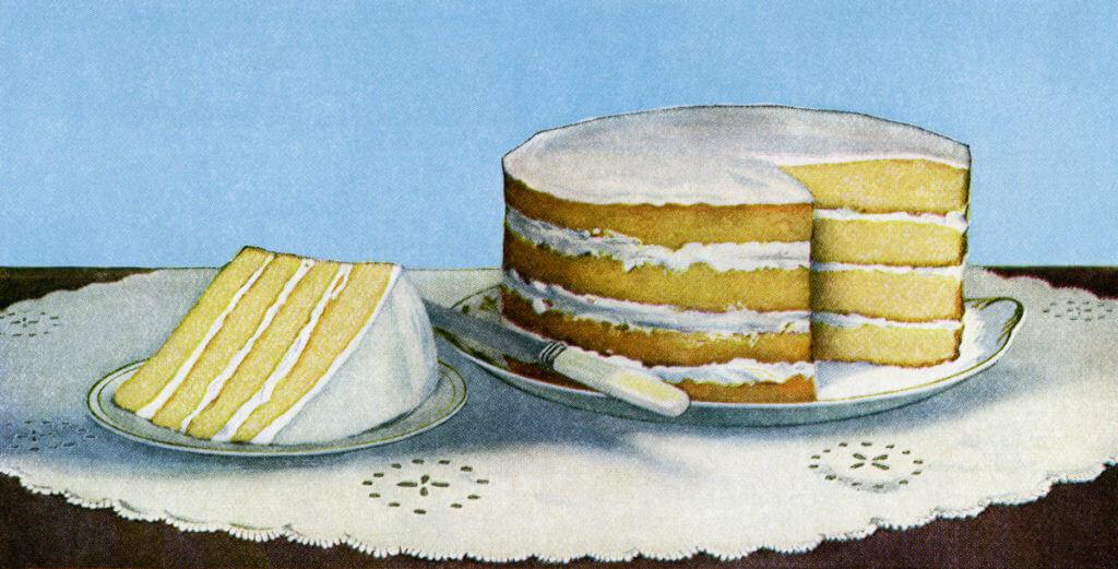 Classic English Sponge Cake