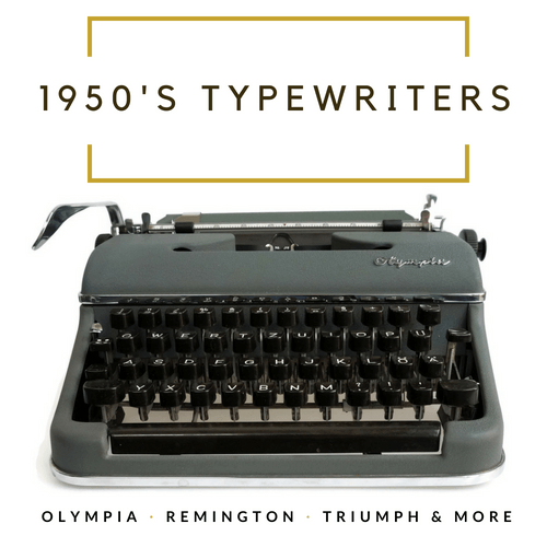 1950's Typewriters