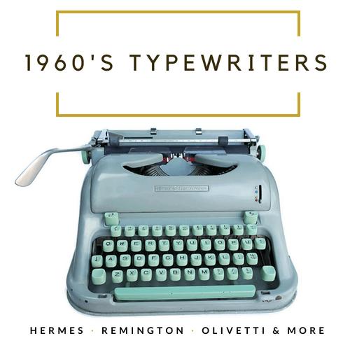 1960's Typewriters