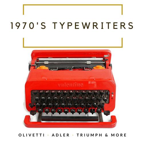 1970's Typewriters