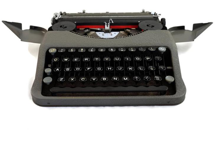 Typewriter Quotes Typed on Real Vintage Typewriters