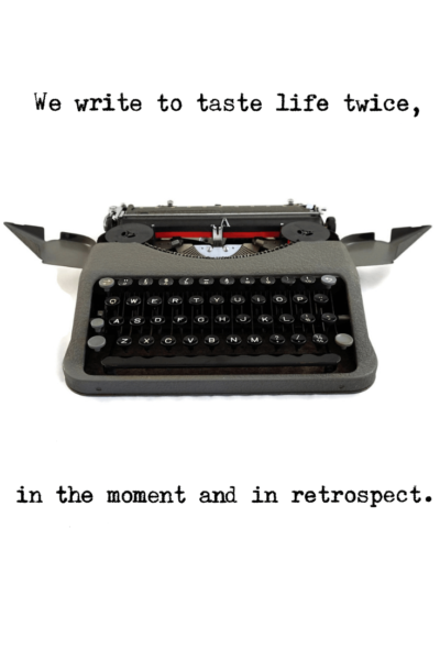Typewriter Quotes Typed on Real Vintage Typewriters