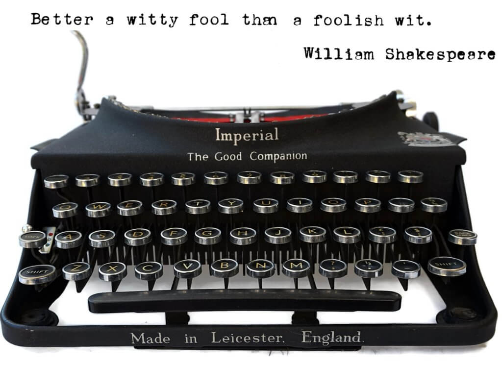 Imperial Good Companion Typewriter