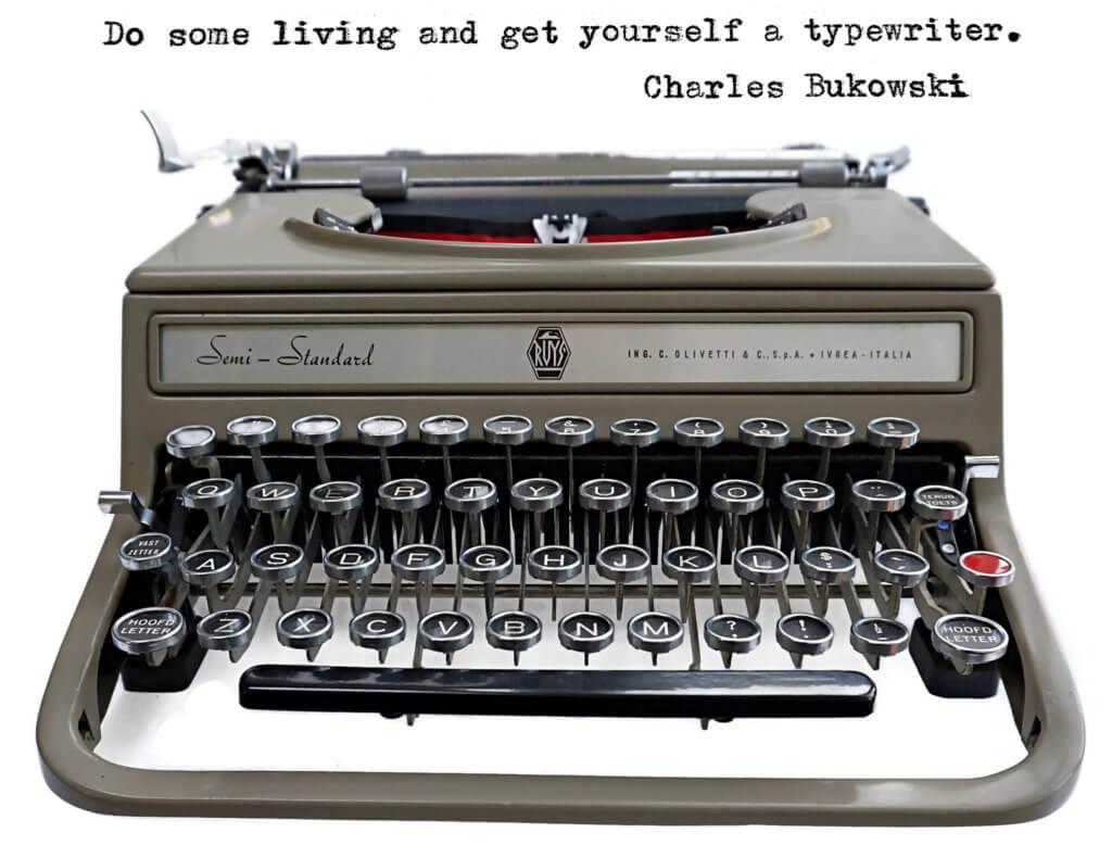 Olivetti Semi-Standard typewriter