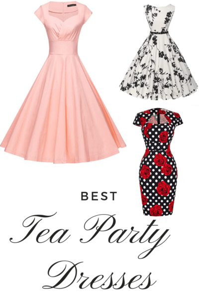 Best High Tea Party Dresses