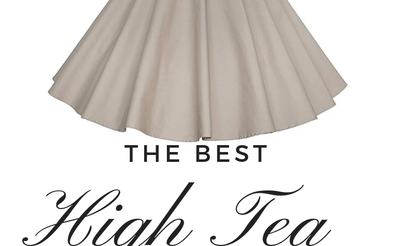 Best High Tea Party Wedding Dresses