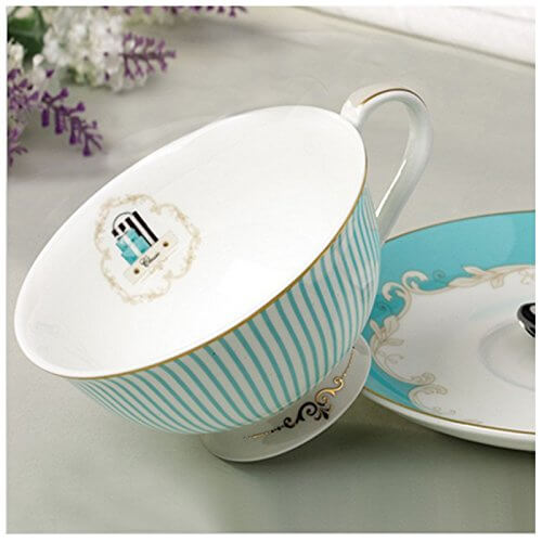 English high tea party teacup and saucer