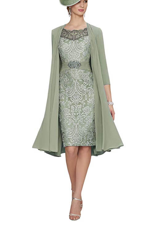 high tea party wedding dresses - green