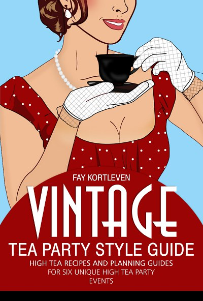 Vintage tea party Style Guide Book