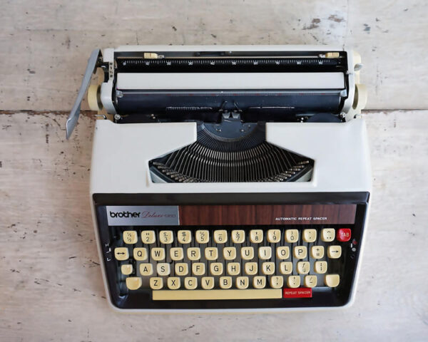 brother typewriter