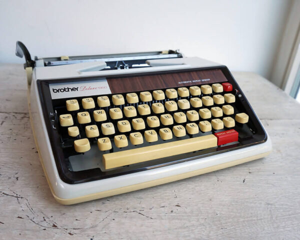 vintage brother typewriter