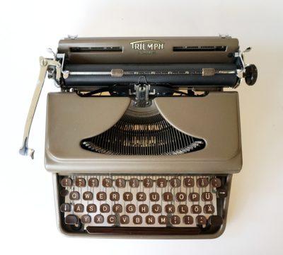 Triumph Durabel Typewriter