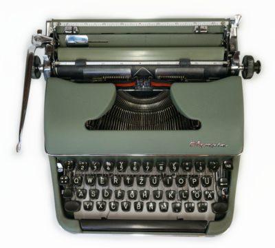 olympia sm3 typewriter with maths keys