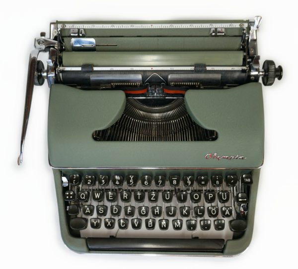 olympia sm3 typewriter with maths keys