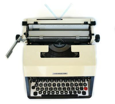 underwood 450 typewriter