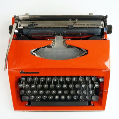 orange contessa typewriter