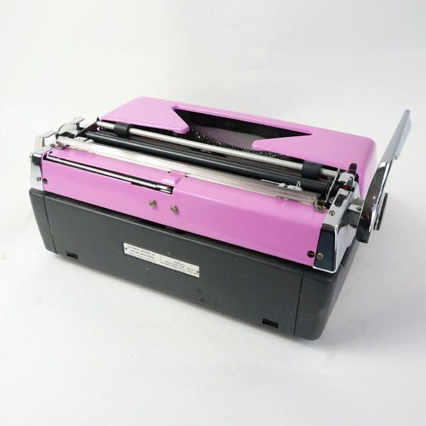 pink olympia typewriter