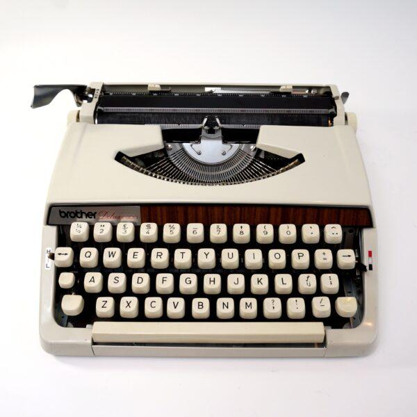 brother deluxe typewriter