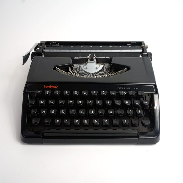 black brother deluxe typewriter