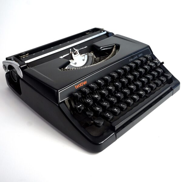 black brother deluxe typewriter