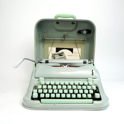 1960 Hermes Media 3 Typewriter