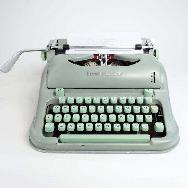 1960 Hermes Media 3 Typewriter