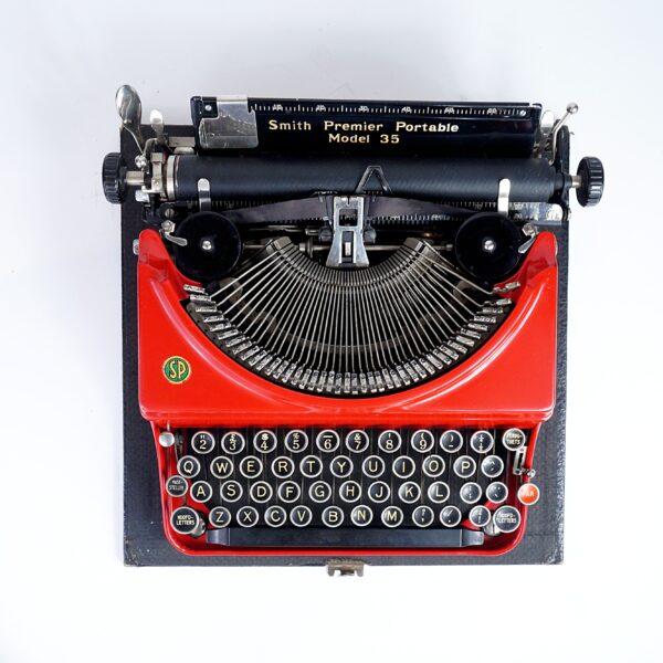 Smith Premier Portable 35 Typewriter