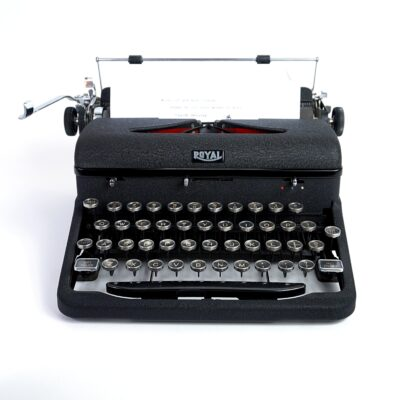 Royal Arrow Typewriter 1943