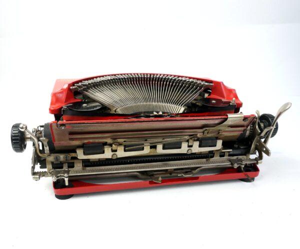red remington portable no.5 typewriter