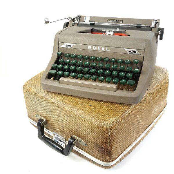 Royal Quiet Deluxe Typewriter