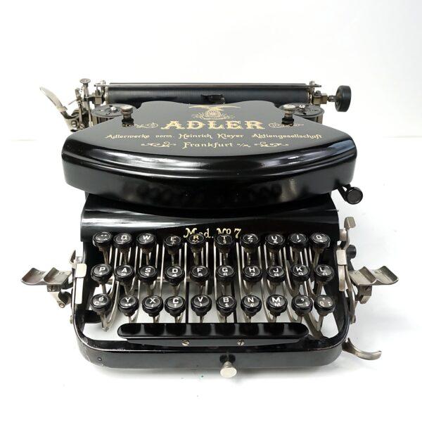 Adler 7 typewriter Cursive