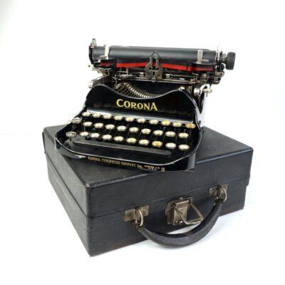 Corona 3 Folding Typewriter 1920