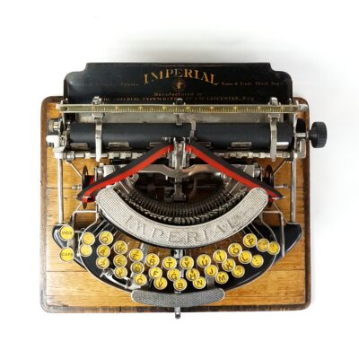imperial model a typewriter