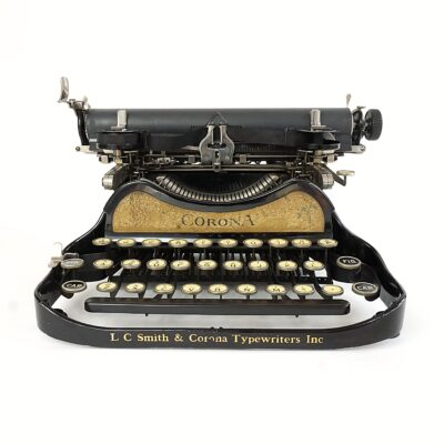 Smith-Corona 3 Folding Typewriter