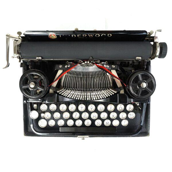 Underwood Portable 3-Bank typewriter