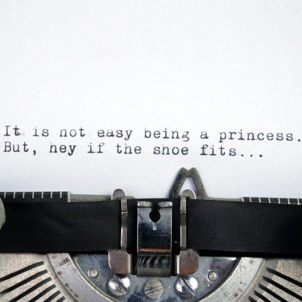 Princess typewriter