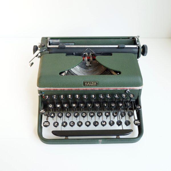 Halda portable typewriter