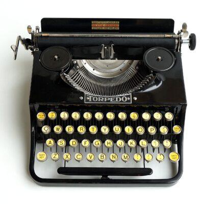 torpedo 17 typewriter