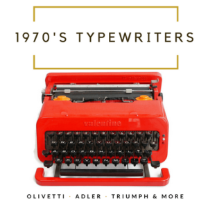 1970's Typewriters
