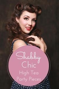Shabby Chic Tea Pieces