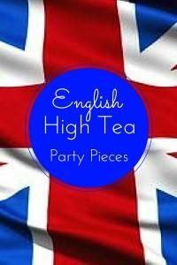 English tea pieces