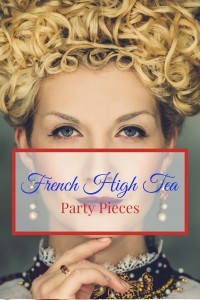 French High tea pieces